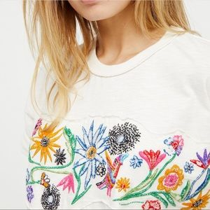 Free People We The Free Garden Time Tee - M